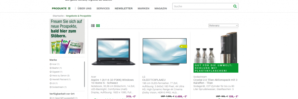 Webshop-